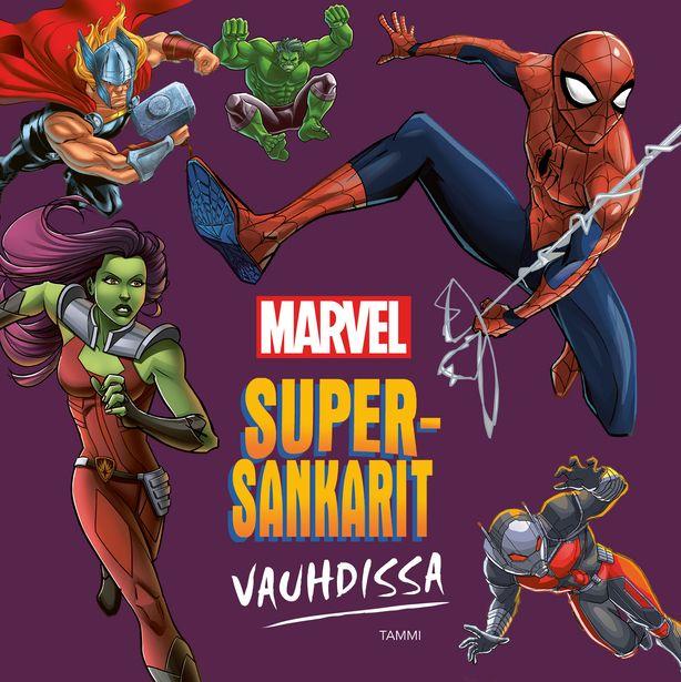 Marvel. Supersankarit vauhdissa -tarjous hintaan 14,9€