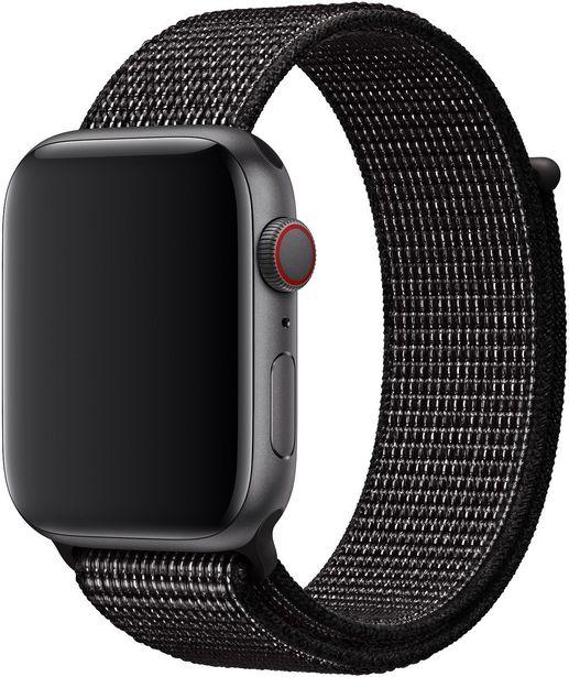 Apple Watch 44 mm musta Nike Sport Loop -ranneke, MX812 -tarjous hintaan 48,9€