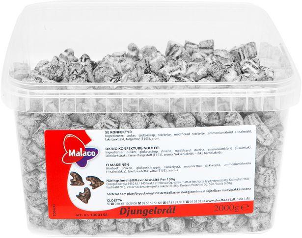 Malaco Djungelvrål Original -irtomakeinen, 2 kg -tarjous hintaan 13,49€