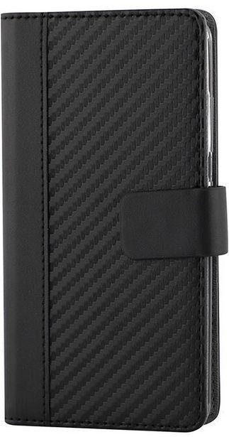 Wave BookCase Carbon -suojakotelo, Nokia 8 Sirocco, musta -tarjous hintaan 19,9€