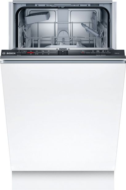 Bosch SRV2IKX10E Serie 2 -astianpesukone, integroitava -tarjous hintaan 499,9€