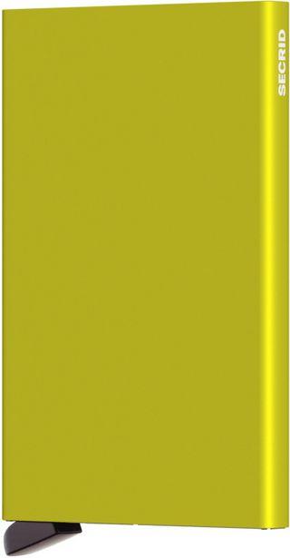 Secrid Cardprotector Lime -korttikotelo, keltainen -tarjous hintaan 29,99€