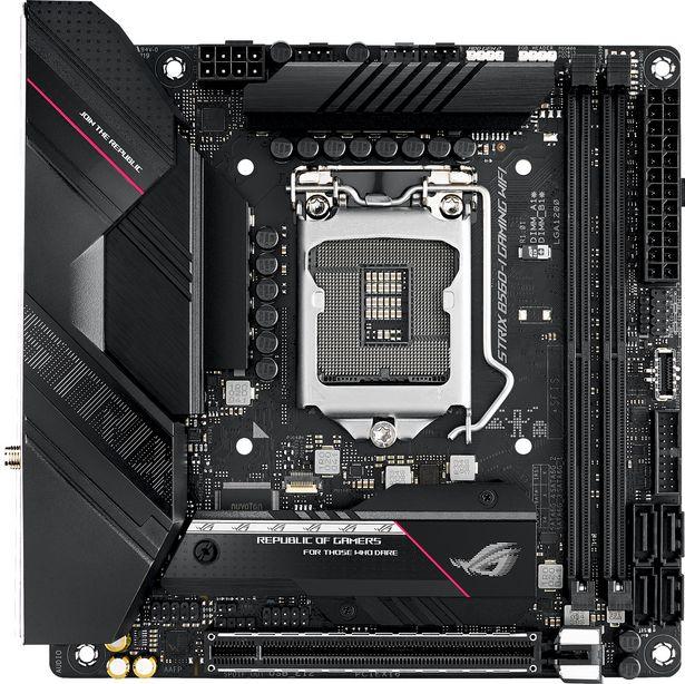 Asus ROG STRIX B560-I GAMING WIFI mini-ITX-emolevy -tarjous hintaan 198,9€