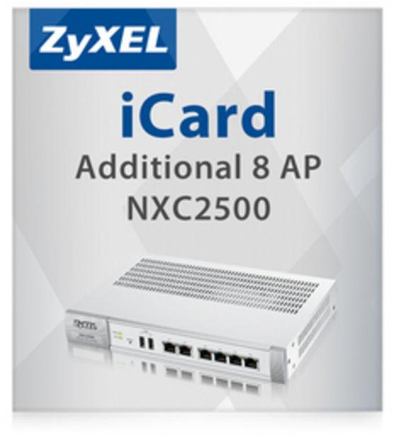 ZyXEL E-iCARD 8-tukiaseman lisenssi NXC2500 -verkon hallintalaiteelle -tarjous hintaan 558,9€