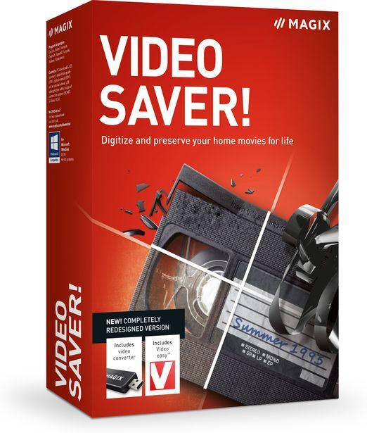 Magix Video Saver! 2022 - videokaappari USB-liitäntään -tarjous hintaan 69,9€