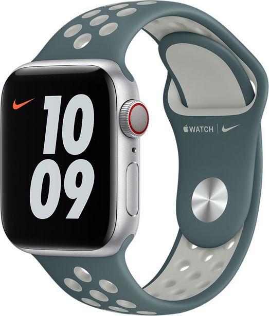 Apple Watch 40 mm Hasta/Light Silver Nike Sport -ranneke -tarjous hintaan 42,9€