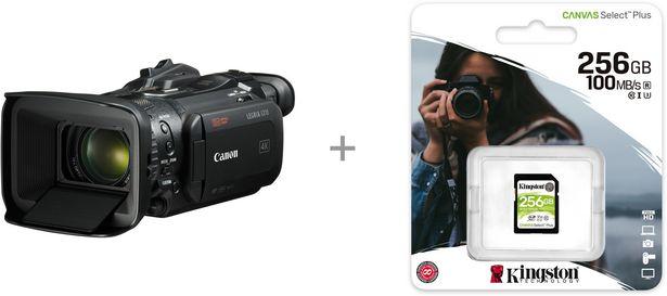 Canon LEGRIA GX10 -videokamera + 256 Gt muistikortti -tarjous hintaan 1939,8€