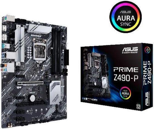 Asus PRIME Z490-P Intel Z490 LGA1200 ATX-emolevy -tarjous hintaan 179,9€