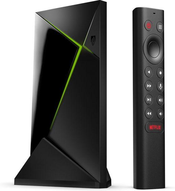 NVIDIA Shield TV Pro -4K HDR mediatoistin -tarjous hintaan 209,99€