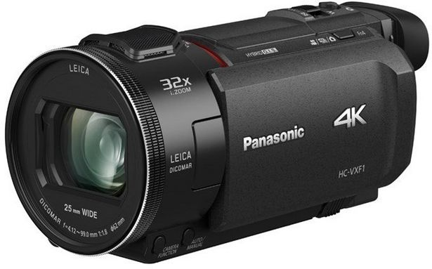 Panasonic HC-VXF1 -videokamera -tarjous hintaan 749,9€