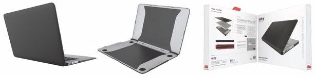 """Tech21 Impact Snap iskuja vaimentava suojakotelo Apple Macbook Air 11"""", musta -tarjous hintaan 89,9€"""