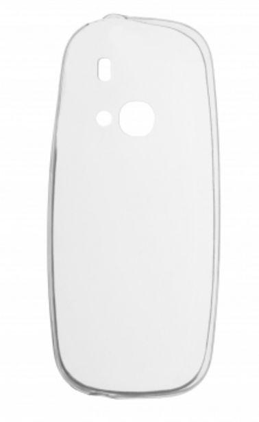 Insmat Crystal -takakuori, Nokia 3310 2G, läpinäkyvä -tarjous hintaan 9,9€