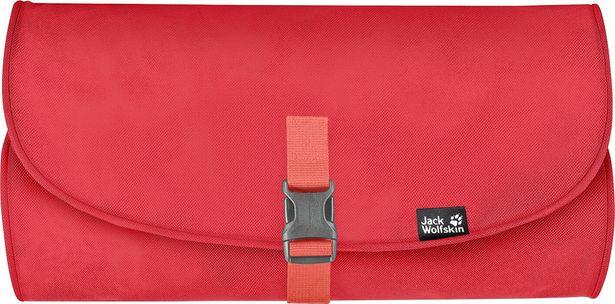 Jack Wolfskin Waschsalon -toilettilaukku, tulppaanin punainen -tarjous hintaan 17,9€
