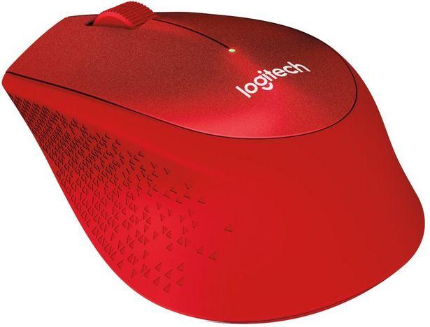 Logitech M330 Silent Plus -hiiri, punainen -tarjous hintaan 36,9€
