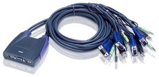 Aten CS64US USB -KVM-kytkin -tarjous hintaan 56,9€