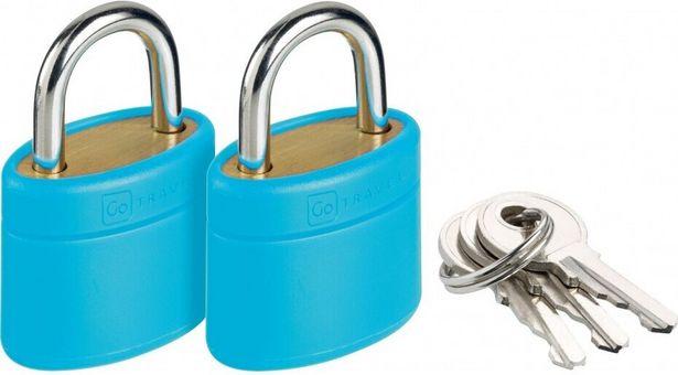 Gotravel Go Key Locks -lukko- ja avainsarja -tarjous hintaan 10,9€
