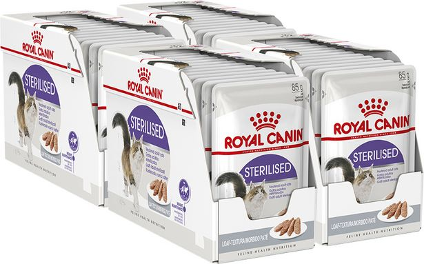 Royal Canin Sterilised Patee, 85 g, 48-PACK -tarjous hintaan 39,9€
