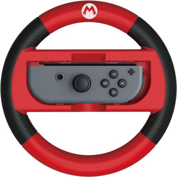 Hori Mario Kart 8 Racing Wheel -rattikehikko, Switch, Mario -tarjous hintaan 13,9€