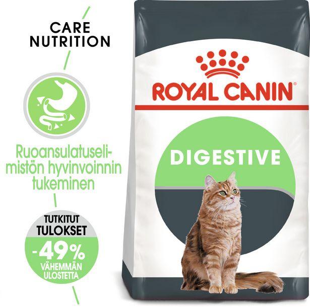 Royal Canin Digestive Care -kuivaruoka, 2 kg, 3-PACK -tarjous hintaan 56,9€