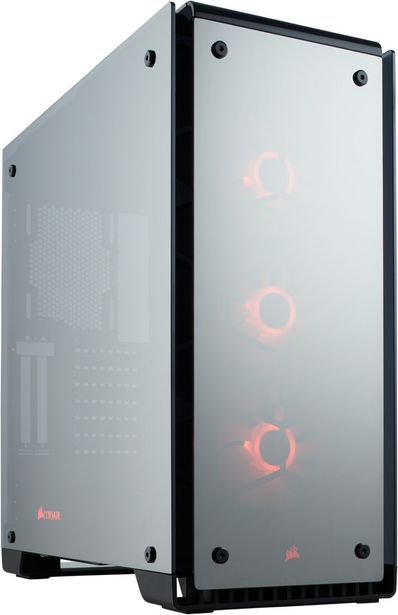 Corsair Crystal Series 570X RGB -ATX-kotelo, musta, peili -tarjous hintaan 229,9€