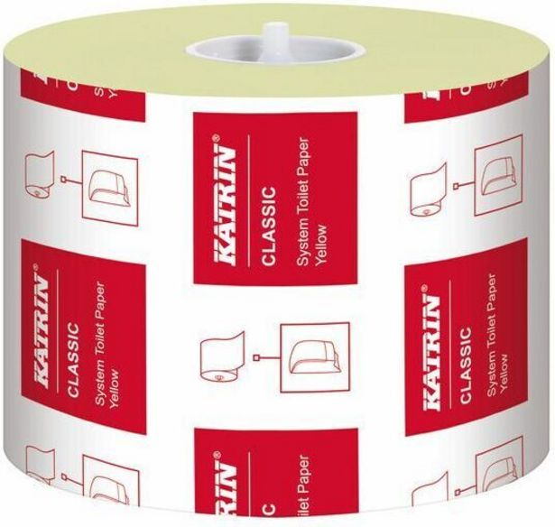 Katrin Classic WC -paperi, keltainen, 36 rullaa -tarjous hintaan 55,99€