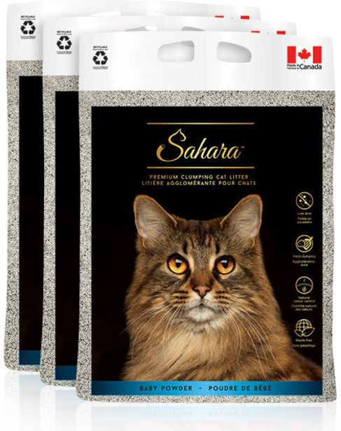 Sahara Baby Powder -kissanhiekka, 10 kg, 3-PACK -tarjous hintaan 34,9€