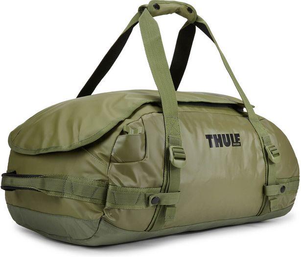 Thule Chasm 40L -duffelilaukku, oliivi -tarjous hintaan 68,99€