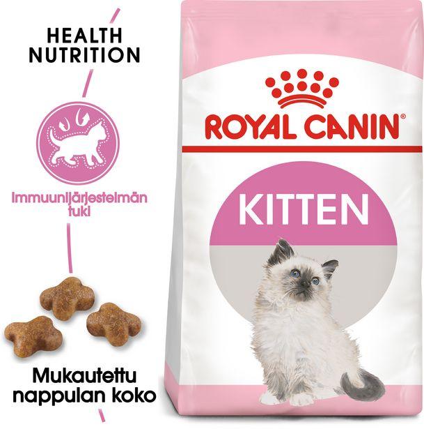Royal Canin Kitten -kuivaruoka, 10 kg, 2-PACK -tarjous hintaan 122,9€