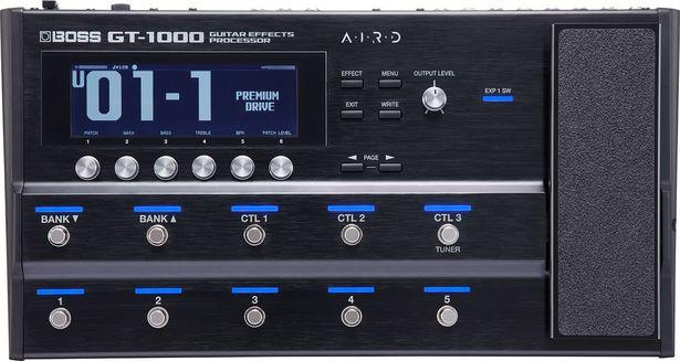 Boss GT-1000 -kitaraefektiprosessori -tarjous hintaan 929,9€