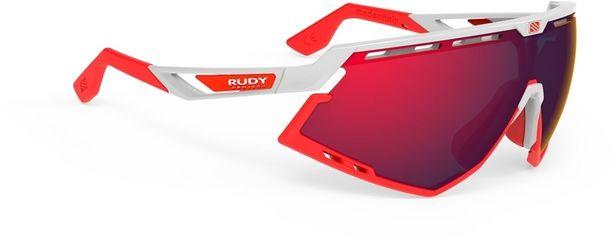 Rudy Project Defender -aurinkolasit, punainen/valkoinen -tarjous hintaan 189,9€
