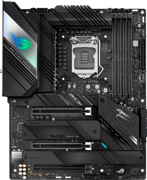 Asus ROG STRIX Z590-F GAMING WIFI -ATX-emolevy -tarjous hintaan 349,9€