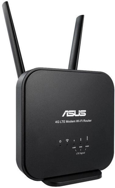 ASUS 4G-N12 -LTE-modeemi ja Wi-Fi-tukiasema -tarjous hintaan 79,9€