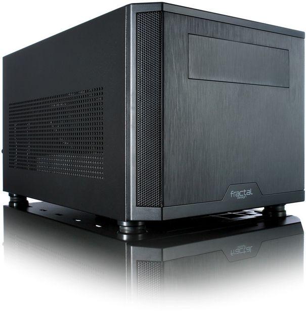 Fractal Design Core 500 -Mini-ITX-kotelo, musta -tarjous hintaan 68,9€