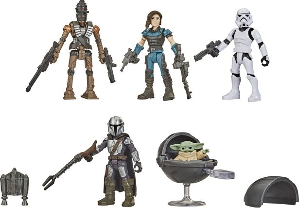 Star Wars Mission Fleet The Child -hahmopakkaus -tarjous hintaan 24,9€