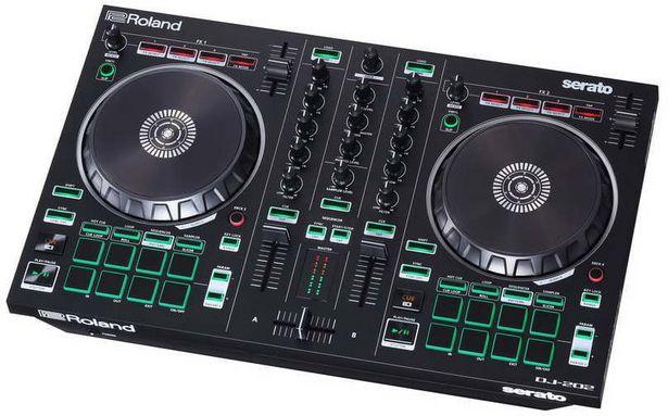 Roland DJ-202 -DJ-ohjain -tarjous hintaan 299€