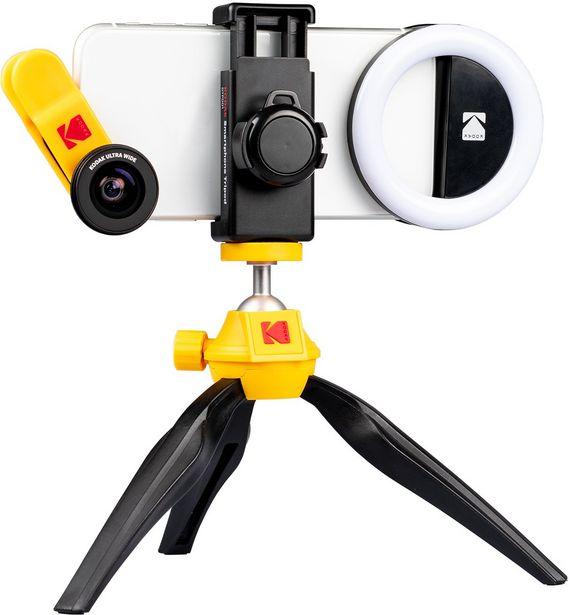 Kodak Smartphone Photography Kit -valokuvaussetti puhelimille -tarjous hintaan 59,9€
