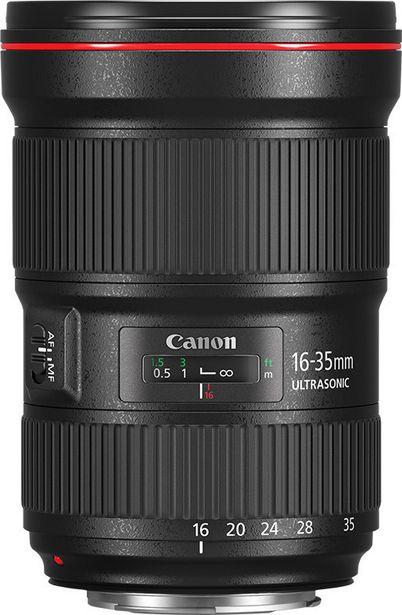 Canon EF 16-35mm f/2.8L III USM -laajakulmaobjektiivi + olkalaukku -tarjous hintaan 2699,9€