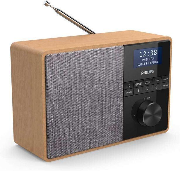 Philips TAR5505 -kannettava radio -tarjous hintaan 69€