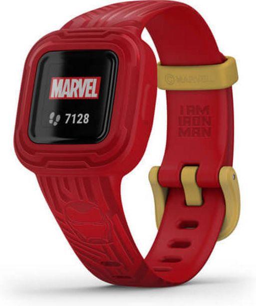 Garmin Vivofit jr. 3 - Iron Man -aktiivisuusranneke -tarjous hintaan 69€