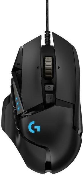 Logitech G502 HERO -pelihiiri -tarjous hintaan 79,9€