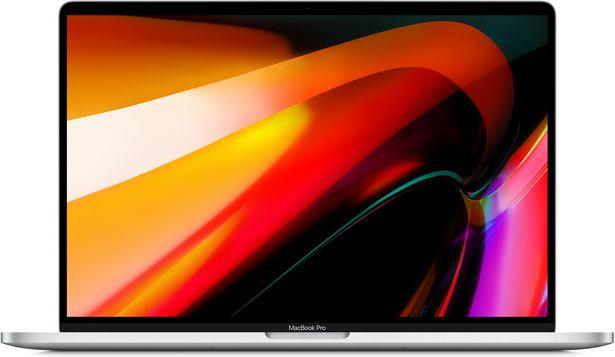 """Apple MacBook Pro 16"""" 64 Gt, 512 Gt SSD -kannettava, hopea (MVVL2) -tarjous hintaan 3418,9€"""