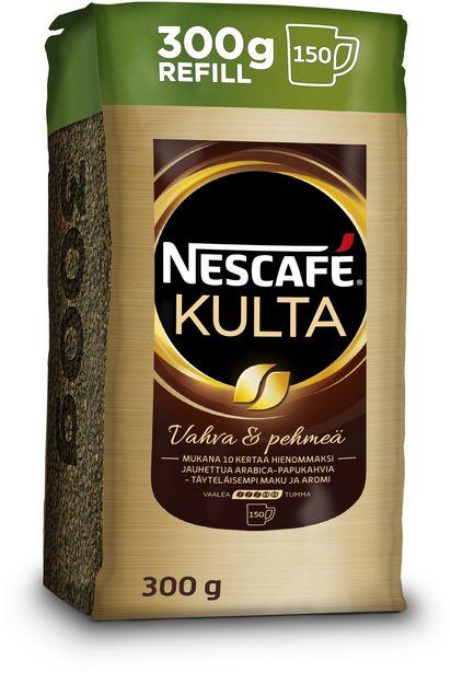 Nescafé Kulta -pikakahvi, 300 g -tarjous hintaan 11,99€