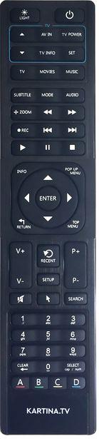 Dune HD / Kartina Micro HD / HD 301 / Relax / LIKE / X / S -kaukosäädin -tarjous hintaan 9,95€