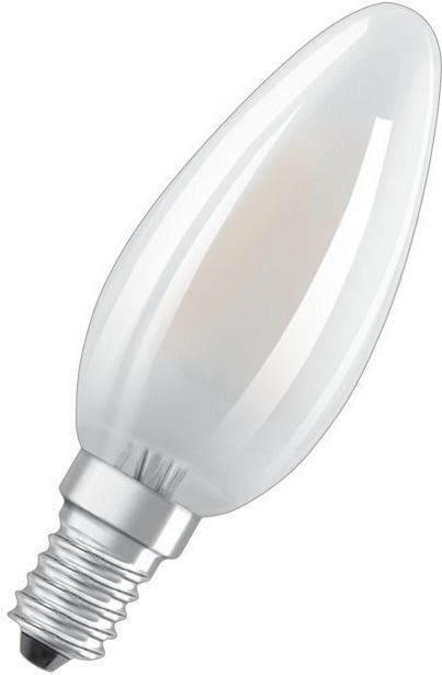 Osram Star LED -kynttilä, E14, 4000 K, 470 lm, matta -tarjous hintaan 4,9€