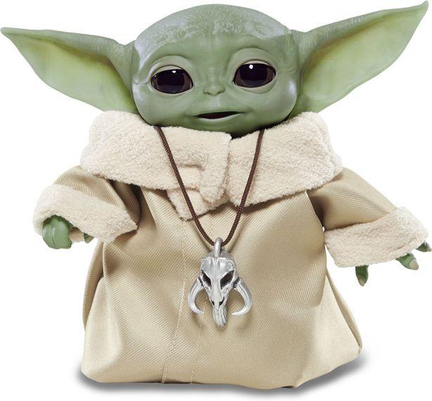 Star Wars The Child -interaktiivinen Baby Yoda -tarjous hintaan 69,9€