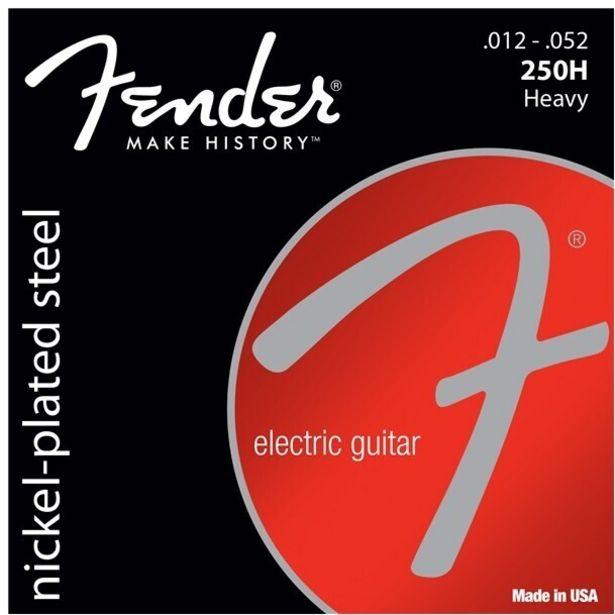 Fender Super 250H -sähkökitaran kielet, 3 kpl paketti -tarjous hintaan 14,9€