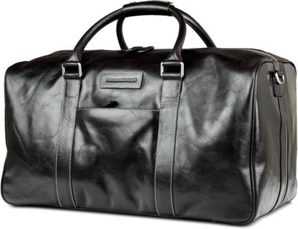 Dbramante1928 Aalborg Weekender Bag -matkakassi, musta -tarjous hintaan 159,99€