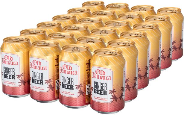 Old Jamaica Ginger Beer -virvoitusjuoma, 330 ml, 24-PACK -tarjous hintaan 24,99€