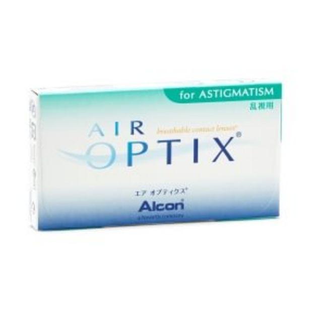 Air Optix for Astigmatism -tarjous hintaan 46€