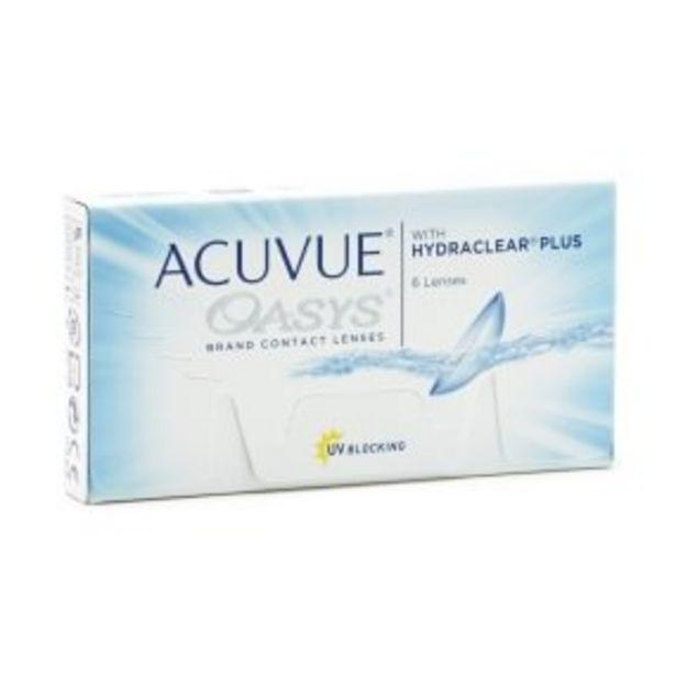 Acuvue Oasys -tarjous hintaan 27€